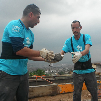 Allegion Americas Supports Habitat for Humanity with Dedication of Nine New Homes in Mexico