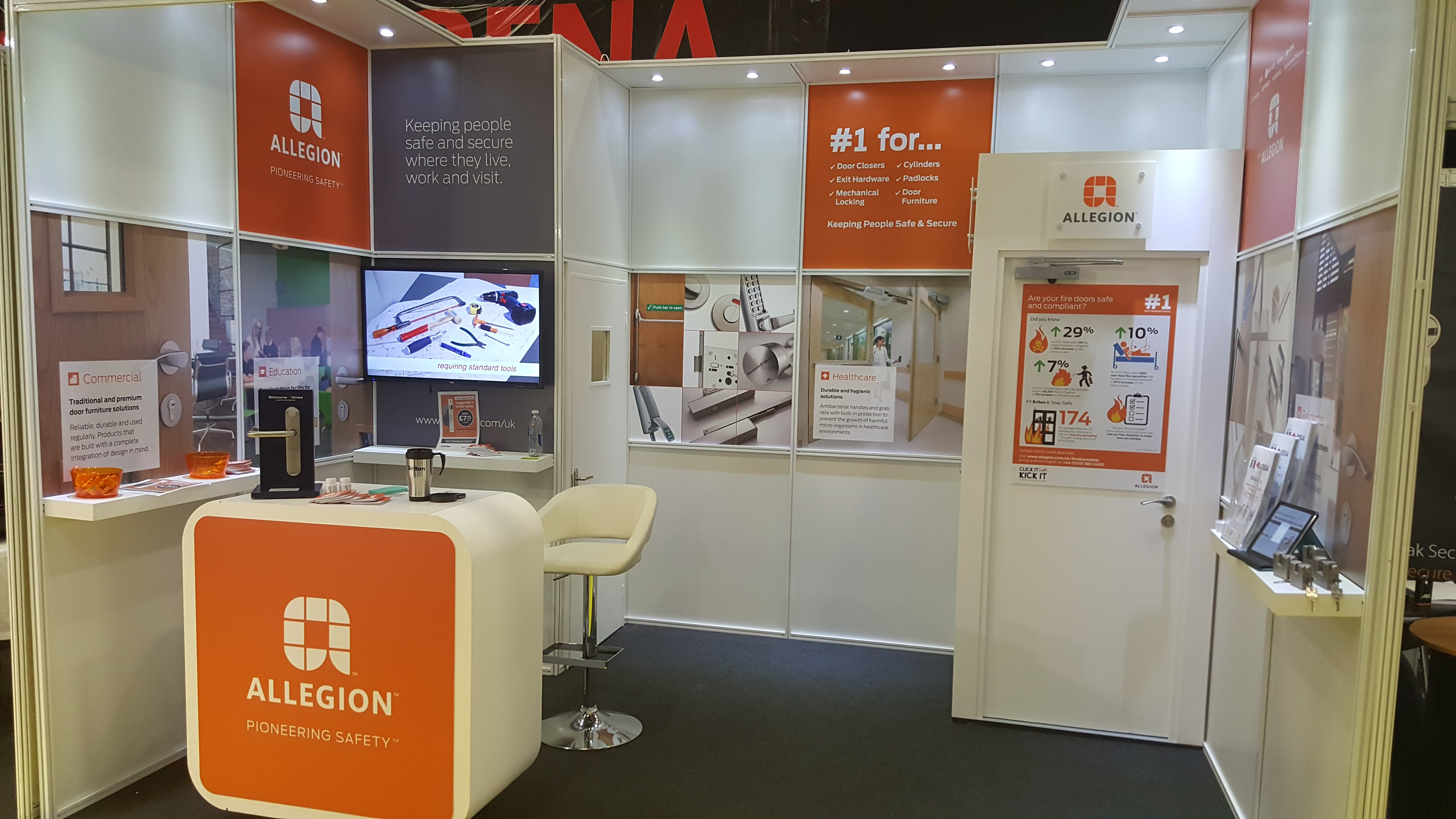 Allegion promotes fire door safety at inaugral Lockex 2016 exhibition