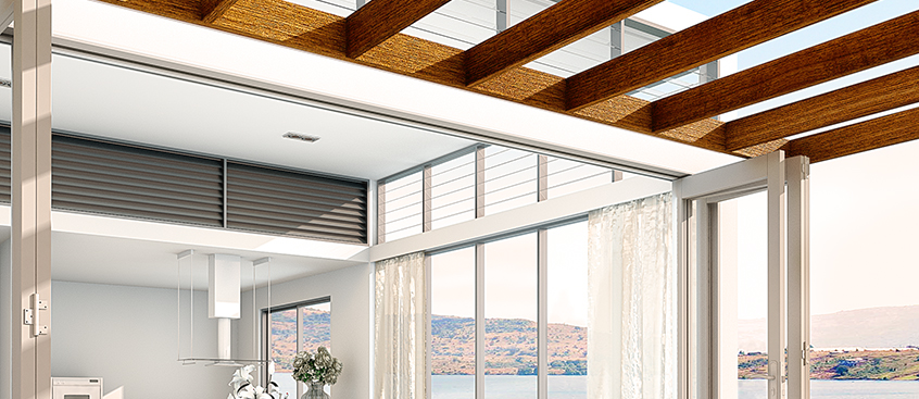 New Brio Weatherfold 5c – Folding door hardware system that carries panels up to 80kg.